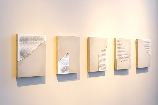 Vue de l'exposition © Marc Domage